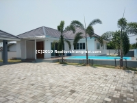 Single Storey House with Private Swimming Pool for Rent in Hang Dong, Chiang Mai.