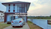 Brand New House for rent in Tharinporn Villa, Mae rim , Chiangmai