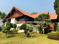 Peaceful and elegant house for sale surrounded by mountains and forest in Mae Taeng, Chiang Mai, Tha