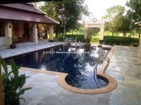 Luxury Lanna house with swimming pool for Rent in Chiangmai, Thailand .