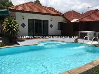 Home Office with Private swimming pool  for Rent or Sale, Sansai, ChiangMai, Thailand.