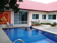 House for rent with swimming pool in Sansai Chiangmai, Thailand.