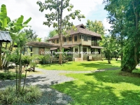 A Lovely House with a large well-maintained Garden for Sale in Doi Saket, Chiangmai.