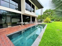 6 Beds unique pool villa in the peaceful gated estate of Flora Ville FOR SALE , Doi Saket, ChiangMai