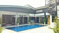 Single Storey house with swimming pool For Sale , Chiangmai, Thailand