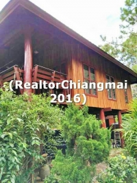 House for Sale with Land  2-2-64 Rai in Maeon Chiangmai Thailand