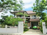 Modern house for sale in Hangdong area, Chiangmai, Thailand.