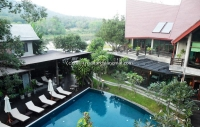 Hotel for sale mountain&Lake View in Chiangmai, Thailand.