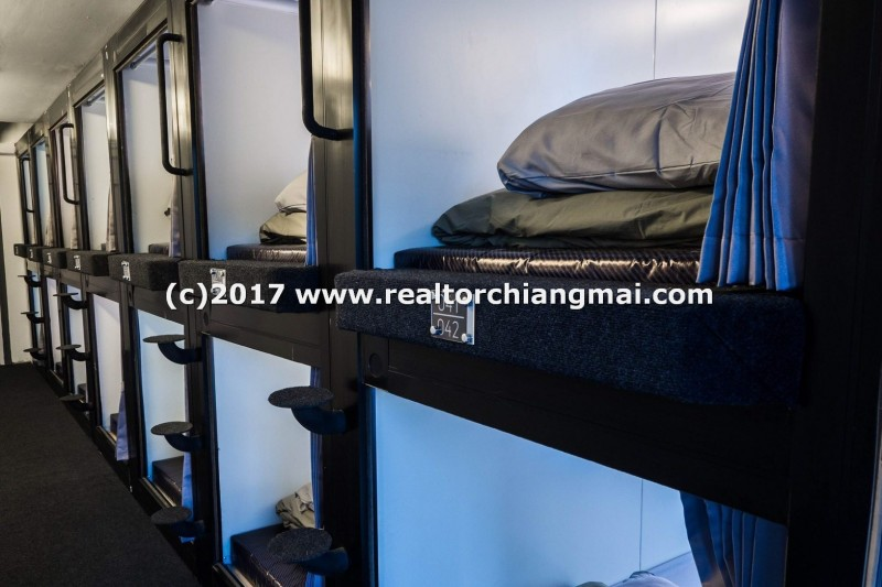Capsule Hostel for sale in Night Barzaar, Chiangmai, Thailand