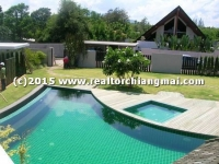 Modern Luxury House with Swimming pool  For RENT in Chiang Mai, Thailand