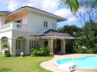 House with private swimming pool for rent in Sansai Chiangmai, Thailand