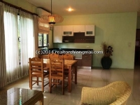 Two storey house in good community for rent in Chiangmai, Thailand