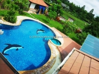 Perfect House with  Private Swimming Pool for Rent in Mae Jo in Chiangmai, Thailand