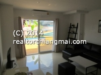 Modern new renovated studio with terrace for short or long rent in Chiang Mai,Thailand