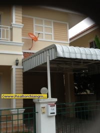 2 Storey House with full furnitures for Rent in Chiangmai,Thailand