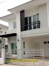 Close to town of 2 Modern Storey for rent in Chiangmai,Thailand