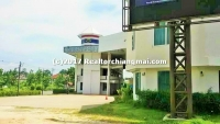 Land with building for sale 5 Rai Close to canal road, Chiang Mai.