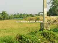 Land for Sale 3 Rai Near Super Highway Chiangmai, Thailand .