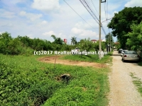 Lot Land for sale apx. 2 Rai Walk 5 minute to Makro, in Chiangmai, Thailand