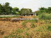 Land for Sale 320 Sq.wa in Su Thep Chiangmai Thailand.