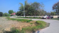 Beautiful Land on a good location for sale in Doi Saket Chiangmai, Thailand
