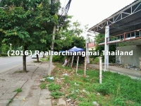 Lot Land for Sale Near Promenada Resort mall Chiangmai Thailand