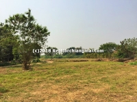 Beautiful Land for sale with Mountain View in Hangdong, Chiangmai.