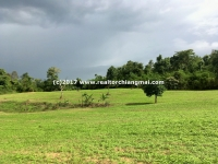 Large Land for sale with mountain view in Chiang Dao, Chiangmai