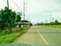 Land for Sale near Paholayothin Road 17 Rai in Chiangrai Thailand.