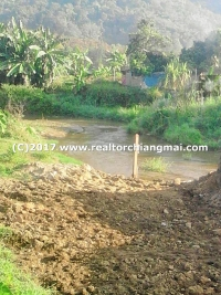 Perfect Land with Mountain surrounding for Sale in Chiang Rai, Thailand
