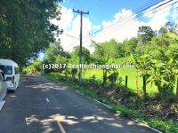 Land for sale Close to Hot springs in Mae On, Chiangmai, Thailand.