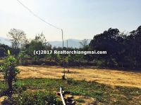 Land for sale with Mountain View in Mea Wang Chiang Mai, Thailand.