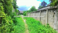 Land close to canal for sale in Hangdong, Chiangmai, Thailand.