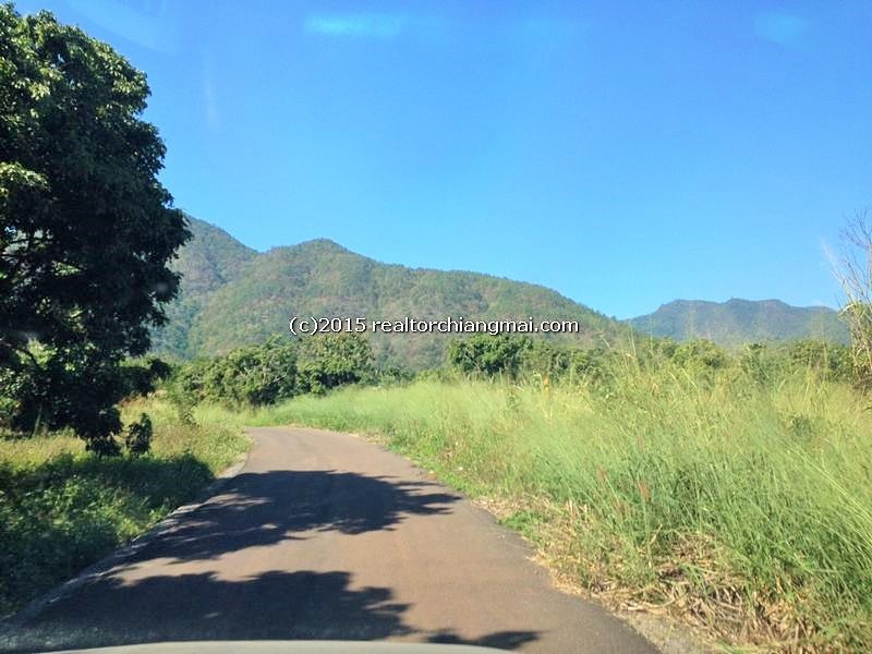 Beautiful Land with Mountain Views in Mea Wang Chiang Mai, Thailand