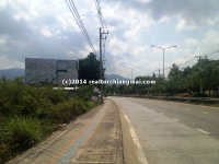"A residential & comercial  ""land Block"" measuring 12 Rai For Sale in Chiang Mai, Thailand"