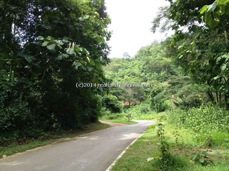 Land for sale in Namphare, Hang-Dong in Chiangmai, Thailand