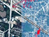 Land for sale 2 Rai 1 Ngan, 121 road, Chiangmai, Thailand