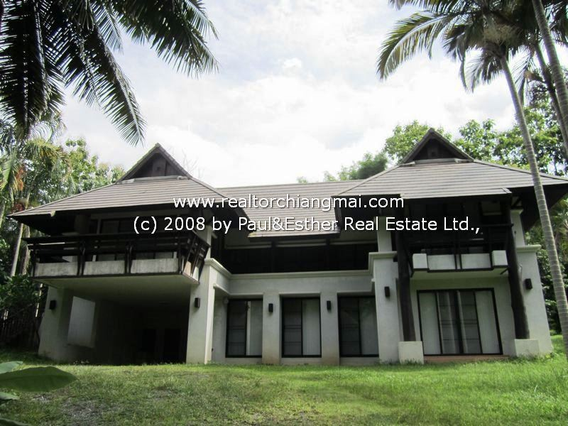 Resort houses For Rent with Mountain and River  with River View Chiangmai, Thailand
