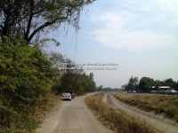 Lot land for sale on Public Main Road Chiangmai Mae Wang, Nam Phrae,Chiangmai,Thailand.