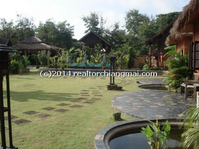 Charming resort with Local Art Deco for rent in Chiangmai