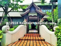 An exclusive boutique Lanna resort blending FOR RENT ChiangMai, Thailand