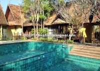 9 Villa (3Beds 3 bath for 1 Villa) with pool Villa near Chet Yot, Chiangmai, Thailand.
