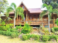 Resort Lanna style  for Sale 8 Rai in Maerim Chiangmail Thailand