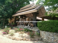 "Resort for Sale ""Baan Chang Resort"" in Hangdong, Chiangmai, Thailand."