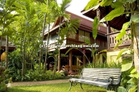 Resort for rent closed to Ping River in Chiang Mai Thailand.