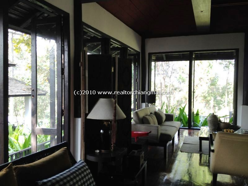 Resort Homes villa for rent near Mountain, Lamphun on 11 Road .