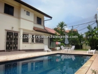 House For Rent with Private swimming pool  in San Sai Chiangmai, Thailand.