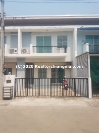Fully Furnished Townhome for Sale in Saraphi, Chiang Mai.
