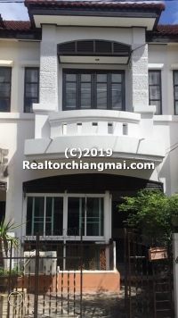 2 Storey Townhouse for Rent in San Sai, Chiangmai, Thailand.