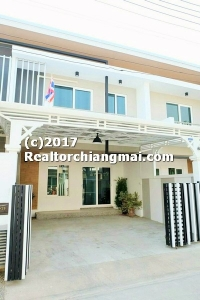 Townhome For Rent in Mahidol Road Chiangmai Thailand.